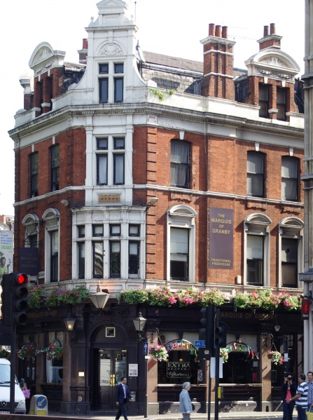 File:Marquis of Granby Shaftesbury Avenue.jpg