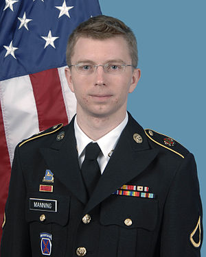 Chelsea as a man in army uniform
