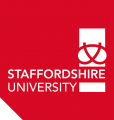 Staffs Uni Red Logo Print Version.png